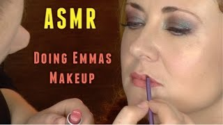 getlinkyoutube.com-ASMR - makeup tutorial with Emma WhispersRed :3