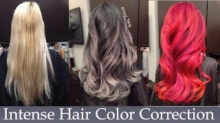getlinkyoutube.com-Intense Hair Color Correction