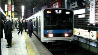 getlinkyoutube.com-209系 京浜東北線 有楽町駅