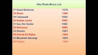 Nilu Phule Movie List