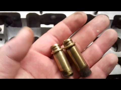 Ремонт двигателя Ауди 100 Часть 7 Втулки клапанов, мойка гбц и мелких деталей
