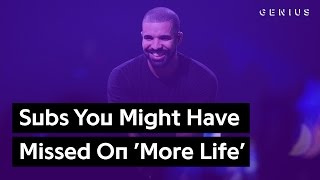 Disses You Might Have Missed On Drake's 'More Life'   Genius News