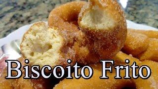 Biscoito Frito de Trigo Receitas Antigas #157 (por Fernando Couto)