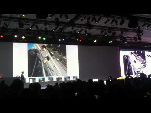 Google Project Glass presentation at Google IO 2012