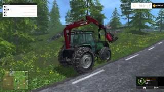 getlinkyoutube.com-Farming Simulator 2015 Sisu Valtra Valmer 6600 Forest Edition Tractor Mod