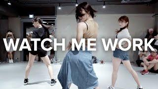 getlinkyoutube.com-Watch Me Work - Tinashe / Beginner's Class