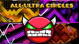 All 5 Ultra Circles | Geometry Dash