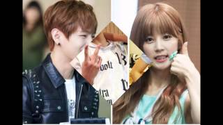 Bts V & Apink Chorong''VRong''  (Joy to the World-song)
