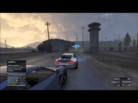 GTA 5 Online Racing (Pepsi Max Presentation) Sweat!!!