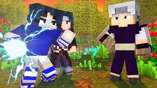 Minecraft: Batalha (Naruto) - Sasuke e Itachi Vs Kabuto ! #22