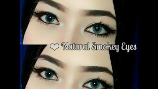 getlinkyoutube.com-Tutorial Alis tanpa dicukur & Natural Smokey Eyes