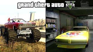 getlinkyoutube.com-GTA 5 - Cheval Marshall & Stock Car Races Gameplay (How to unlock) [PS4 & Xbox One]