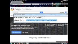 How to Get 800$ Google Cloud Platform credit free and create VPS