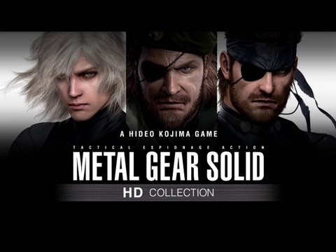 Metal Gear Solid HD Collection Launch Trailer -1K_l8U61OpA