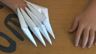 Download Video How To Make Paper Claws