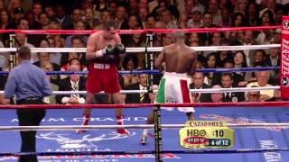 getlinkyoutube.com-Oscar De La Hoya vs Floyd Mayweather HD