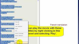 getlinkyoutube.com-translate .srt or .sub movie subtitles easy and freely