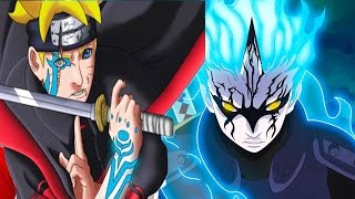 getlinkyoutube.com-Boruto's Curse Mark Vs Mitsuki Sage Mode - Naruto's New Generation
