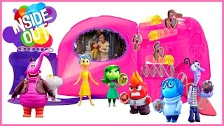 getlinkyoutube.com-Inside Out Headquarters Playset Collection Joy, Sadness,Anger,Fear and disgust New toy Dinsey Pixar