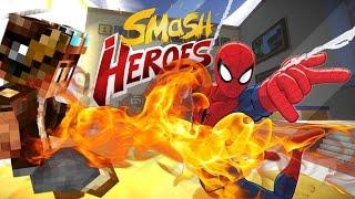 getlinkyoutube.com-SPIDERMAN DANS MINECRAFT !! [FR] Smash Heroes