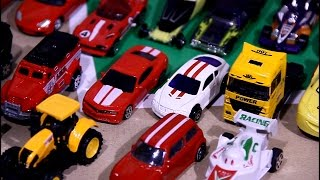 50 small toy cars for children | Police Car | Sports car |  A lot cars for children