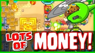 getlinkyoutube.com-Bloons TD Battles - SPENDING SO MUCH CASH & BANANAS BANANZA MODE! - GET MONEY FAST IN BTD BATTLES!