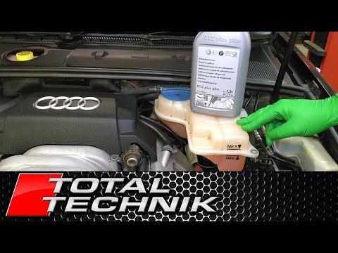 Audi ALL MODELS G12 G13 Coolant Antifreeze - How Often Should I Change It? - TOTAL TECHNIK