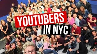 getlinkyoutube.com-YOUTUBERS IN NYC & Seeing Bruno Mars Live! | LaurDIY