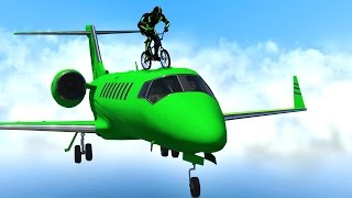 getlinkyoutube.com-BMX RIDING ON PLANES! (GTA 5 Funny Moments)