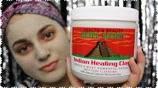 getlinkyoutube.com-BEST MASK EVER! Aztec Secret Indian Healing Clay Review + DEMO | Amy Ali