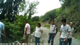 getlinkyoutube.com-ハスラーで行く林道 笠形林道で牽引してバイクを救出