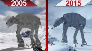 Comparison | Battlefront 2 (2005) vs. Battlefront (2015) | ULTRA | GTX 970