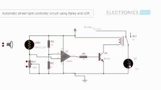 getlinkyoutube.com-Automatic Street Light Controller using Relays and LDR