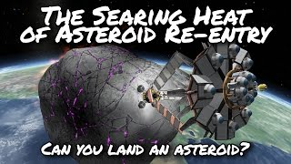 KSP Asteroid Landing Day (Tutorial:41) Kerbal Space Program 1.2 -  Stock Parts