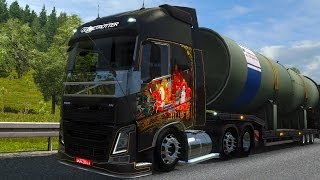 getlinkyoutube.com-Volvo Fh16 l Brazil + Sound + Interior l Euro Truck Simulator  1.22
