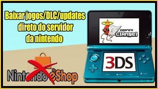 [3DS] CIAngel - Baixar e instalar qualquer jogo direto no 3DS