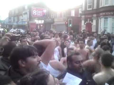 Birmingham Jaloos Mola Hussain (as) part 4 25/12/2011 Ravi Road: tayo abbid raat roya