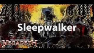 Megadeth -  Sleepwalker Lyrics