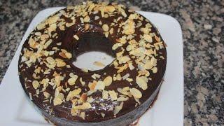 getlinkyoutube.com-كيكة سهلة بالشكلاطة  cake au chocolat