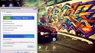 Cara memindah Taskbar Windows XP (Samping/atas)