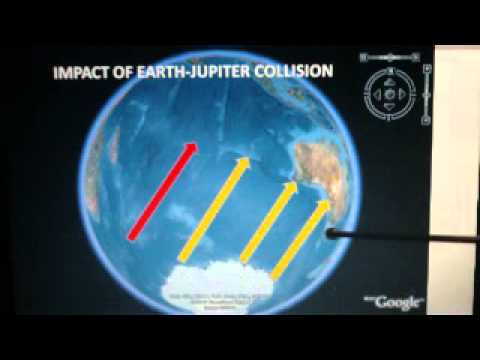 Earth Mars Jupiter had been collision appear Moon Luna and asteroid between Jupiter Mars