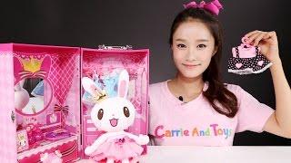 getlinkyoutube.com-캐리의 프린세스 프링 드레스룸 장난감 인형 놀이 CarrieAndToys