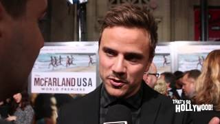 getlinkyoutube.com-Viner Matt Cutshall talks what he likes about Kevin Costner McFarland USA Premiere