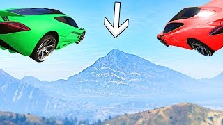 getlinkyoutube.com-MOST IMPOSSIBLE CAR FLIGHT! (GTA 5 Funny Moments)