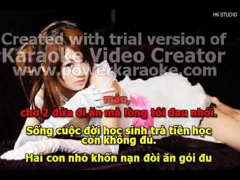 Lay Tien Cho Gai  karaoke