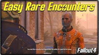 """getlinkyoutube.com-Fallout 4 """"Unique Encounters"""" Guide! How to get Rare Traders + Other Special NPCs Easily!"""