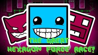THE GREAT HEXAGON FORCE RACE! | #NorcdaSkit