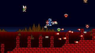 getlinkyoutube.com-Super Mario Bros. X (SMBX) Bowser's Mansion