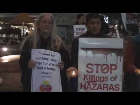 Vigil For The Victims Of The Taftan, Pakistan Massacre - 15th June 2014 - Melbourne, Australia