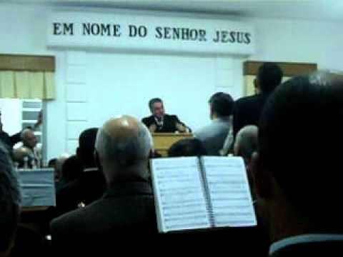 Santim testemunho e hino da palavra no Ministério de Jandira ccb